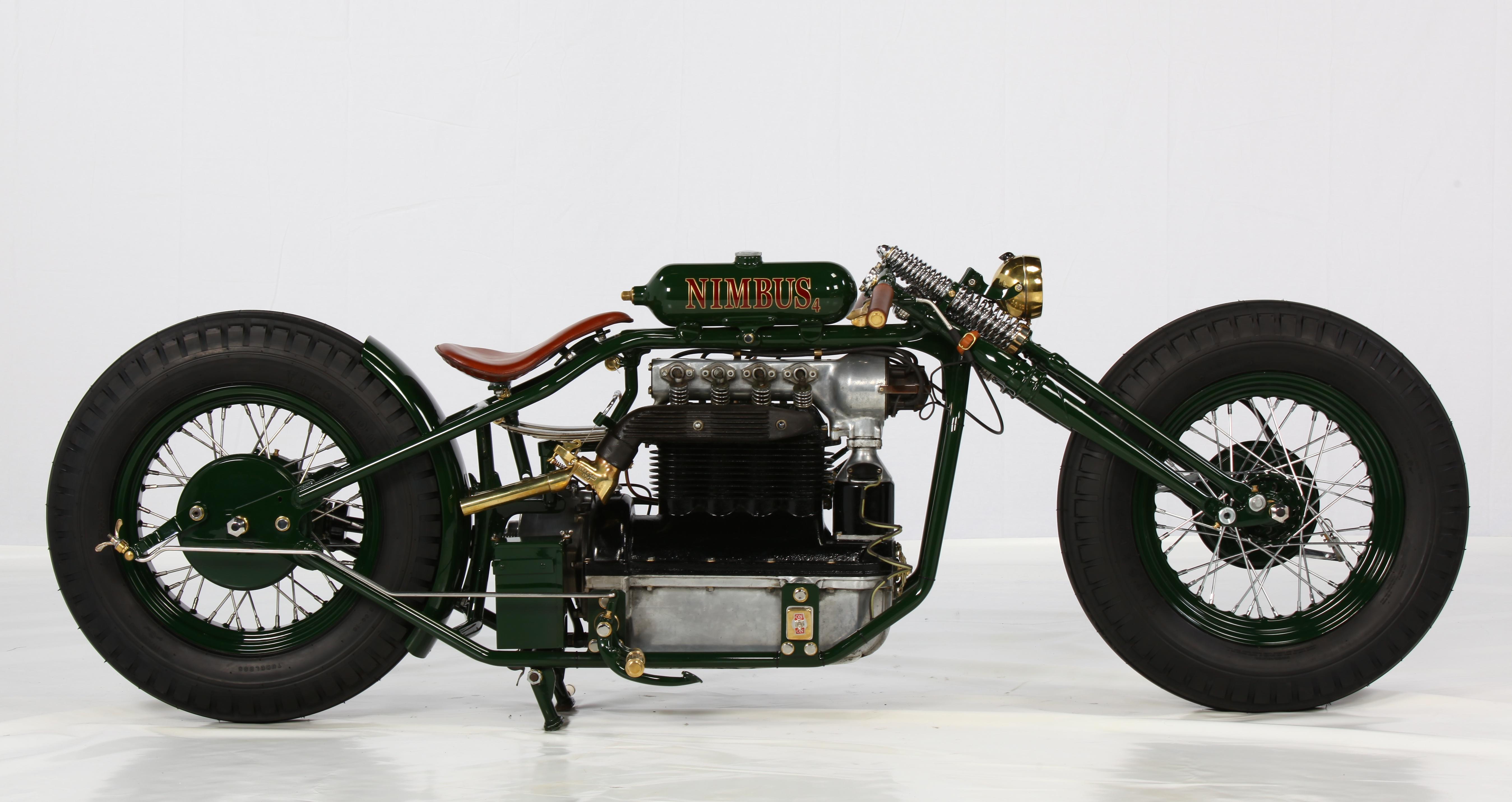 Nimbus Og 6 Cylindret Bmw Vinder Custom Bike Vm Motorrad